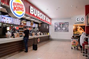 Burger king restaurant Dubai
