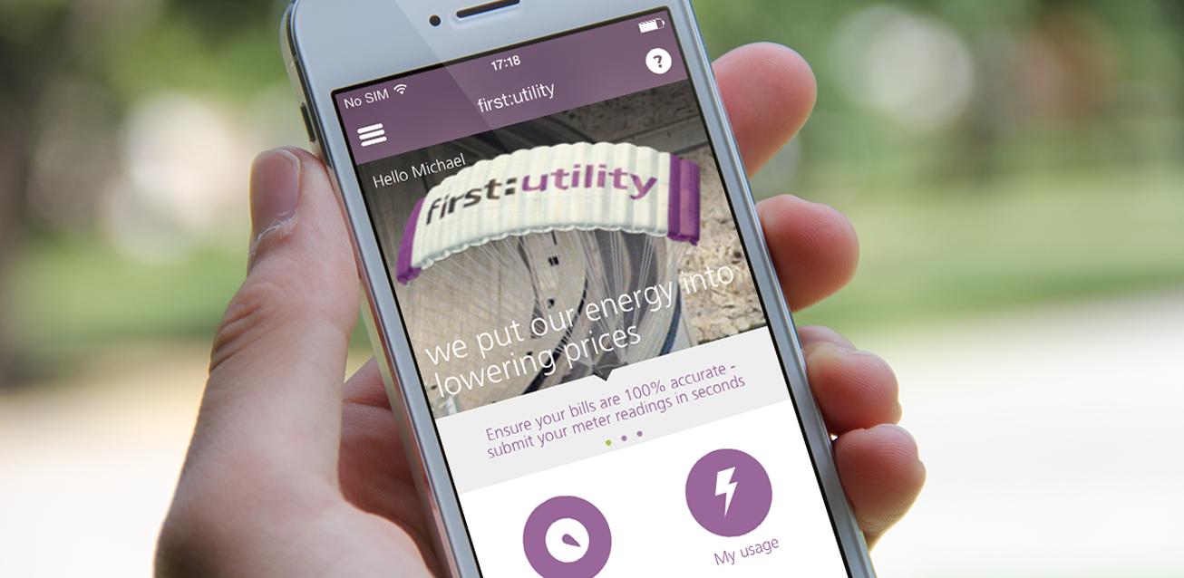 First Utility complaints app
