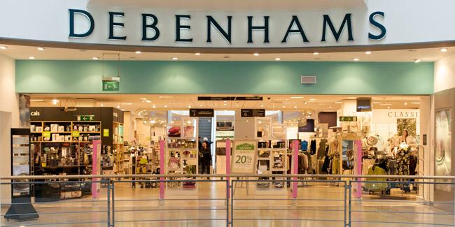 debenhams complaints storefront
