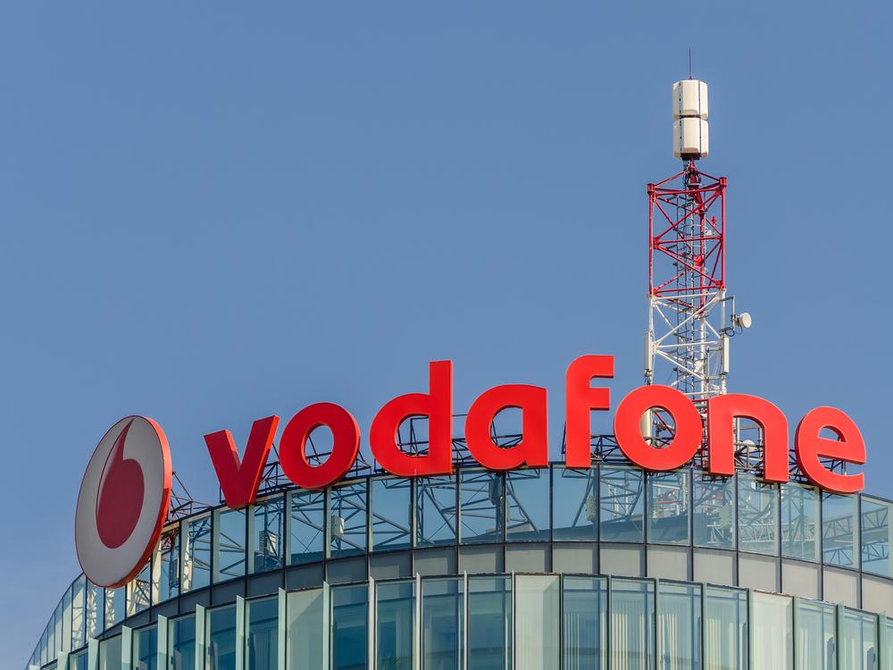 Vodafone phone mast