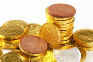 chocolate-coins