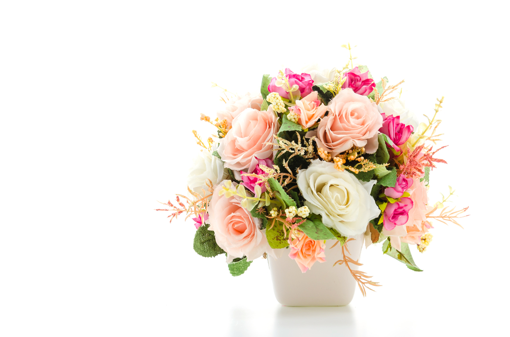 M&S flower arrangement