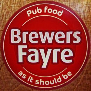 Brewers Fayre Complaints Number - 0843 816 6148