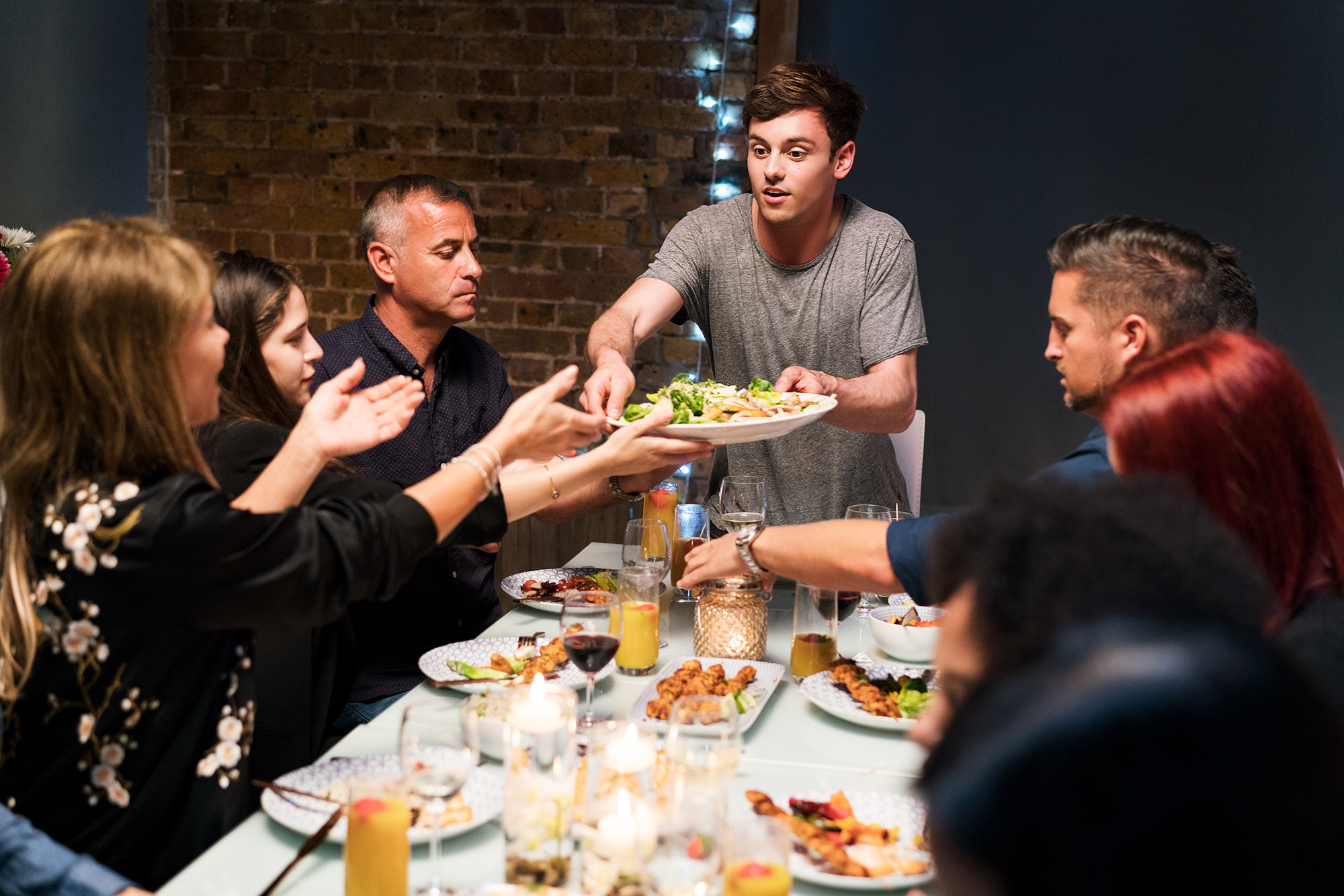 Tom Daley encourages us to get over our socialising slump