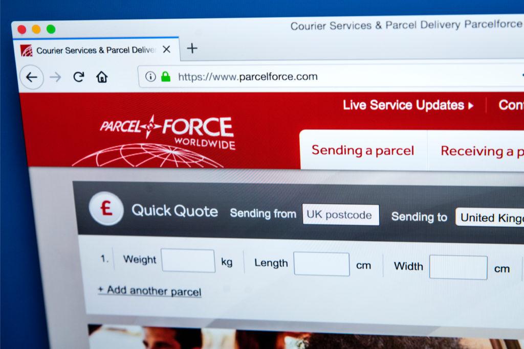 Parcelforce Rearrange Delivery Guide