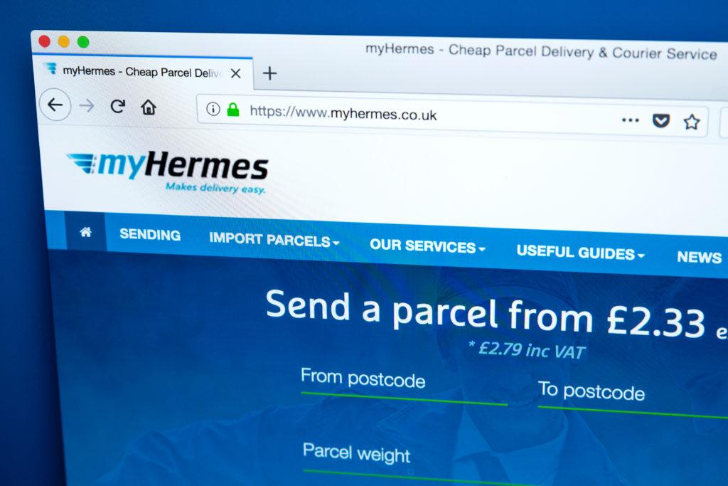 Hermes Rearrange Delivery Guide
