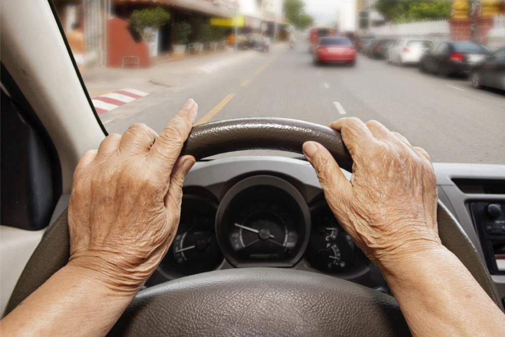 Should old people resit their driving test?