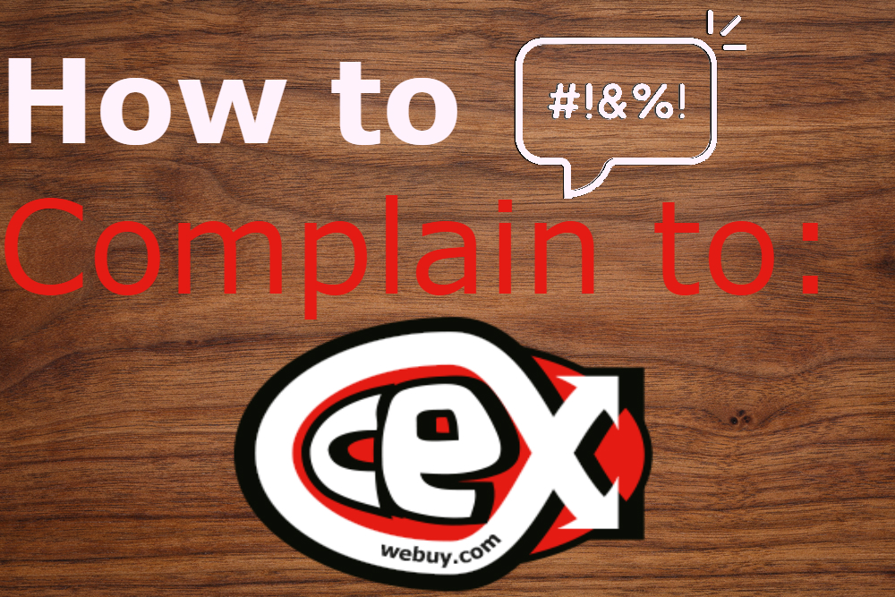 how to complain to CEX