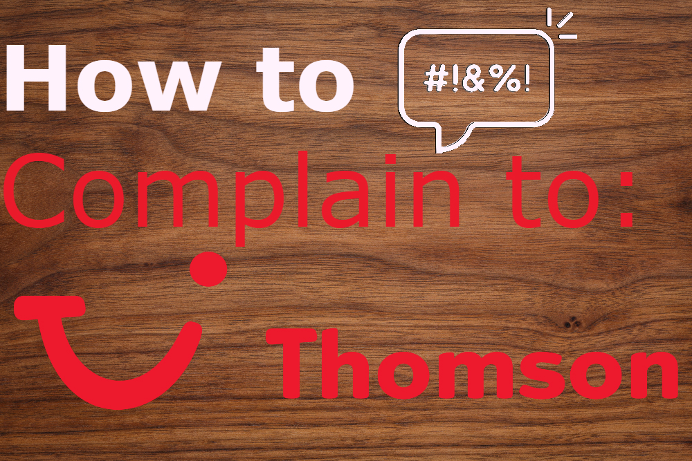 how to complain to thomson