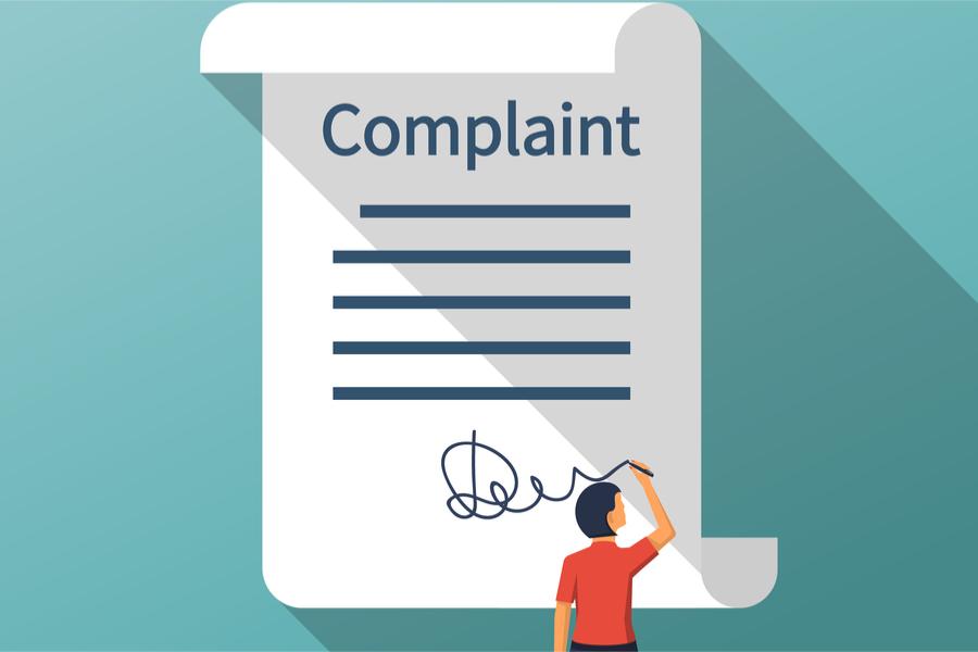 bank complaint letter template