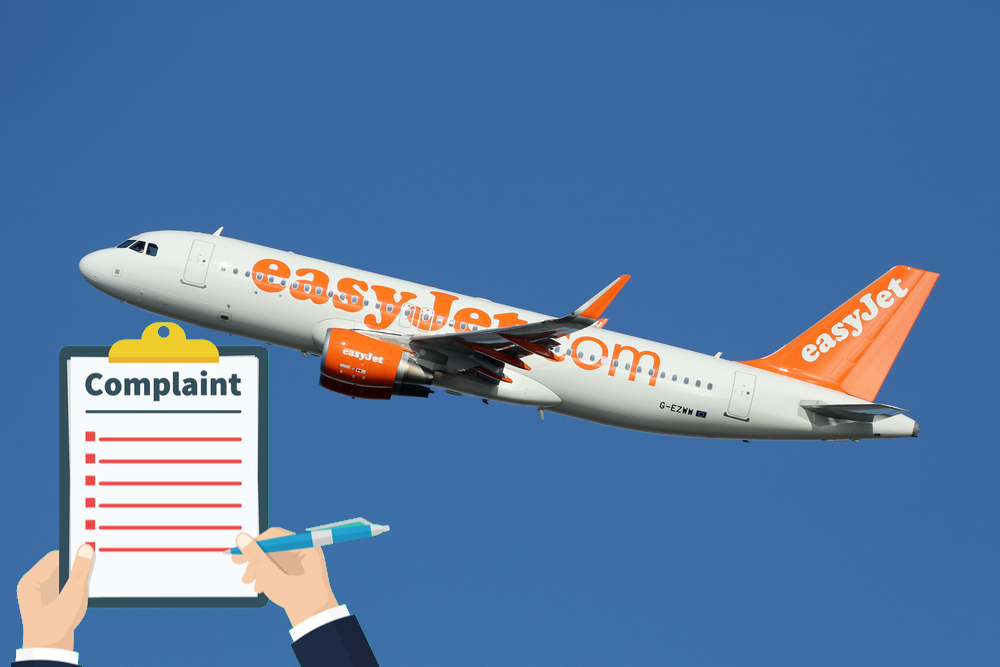 how to complain to easyjet