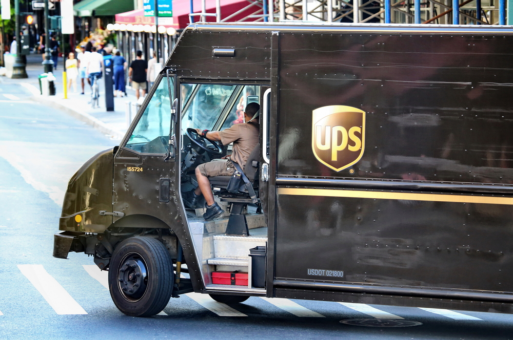 how to complain about a UPS driver